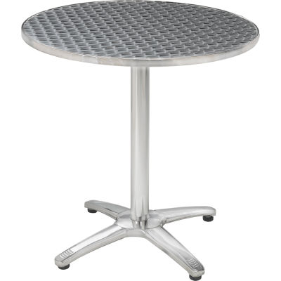 Premier Hospitality Round 28 Inch Stainless Steel Table