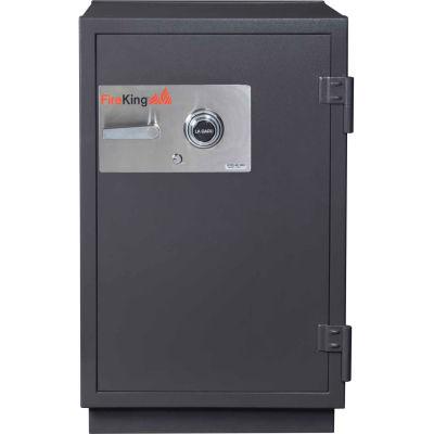 FireKing® Impact & Burglary Safe KR3121-2, 2-Hour Fire Rating 25-1/2 x 28-7/8 x 41-1/8 Taupe