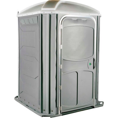 PolyJohn® Comfort XL™ Wheel Chair Accessible Portable Restroom Pewter - PH03-1005