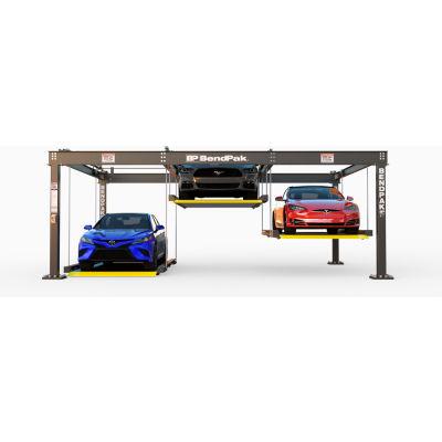 BendPak® Parking Lift 6,000 lb Capacity, Triple, Independent Platforms