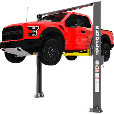BendPak® 10,000 lb Capacity/Asymmetric/Adjustable Width/Screw Pads/High Rise
