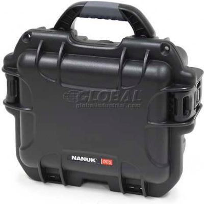 """Nanuk 905 Case, 12-1/2""""L x 10""""W x 6""""H, Black"""