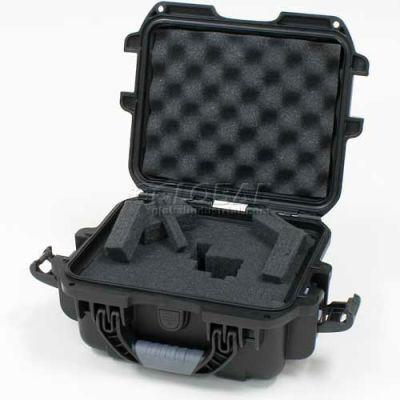 """Nanuk 905 Case w/Foam, 12-1/2""""L x 10""""W x 6""""H, Black"""