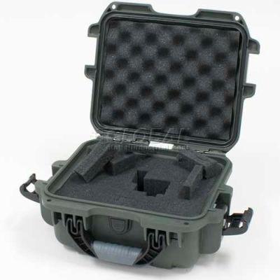 "Nanuk 905 Case w/Foam, 12-1/2""L x 10""W x 6""H, Olive"
