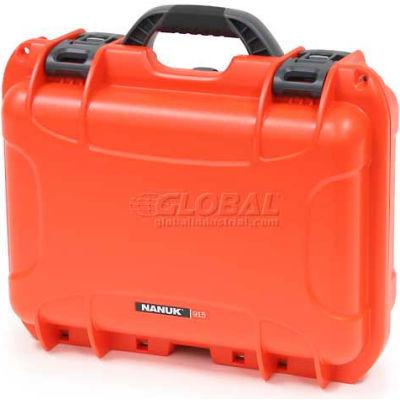"""Nanuk 915 Case, 15-3/8""""L x 12-1/8""""W x 6-13/16""""H, Orange"""