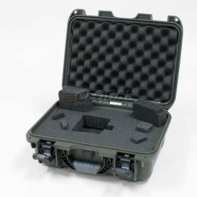 "Nanuk 915 Case w/Foam, 15-3/8""L x 12-1/8""W x 6-13/16""H, Olive"