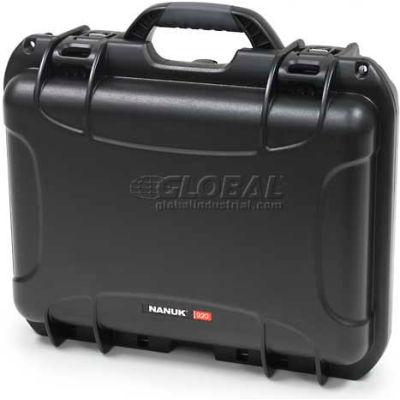 """Nanuk 920 Case, 16-11/16""""L x 13-3/8""""W x 6-13/16""""H, Black"""
