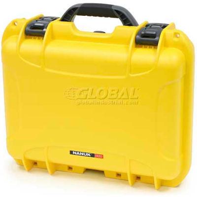 """Nanuk 920 Case, 16-11/16""""L x 13-3/8""""W x 6-13/16""""H, Yellow"""