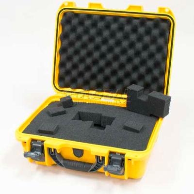 """Nanuk 920 Case w/Foam, 16-11/16""""L x 13-3/8""""W x 6-13/16""""H, Yellow"""
