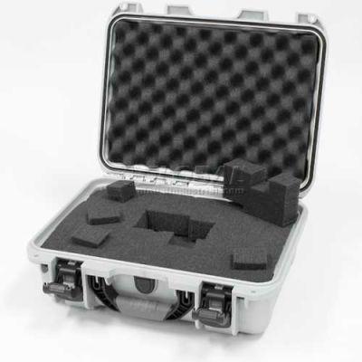 """Nanuk 920 Case w/Foam, 16-11/16""""L x 13-3/8""""W x 6-13/16""""H, Silver"""