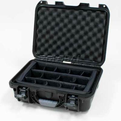 "Nanuk 920 Case w/Padded Divider, 16-11/16""L x 13-3/8""W x 6-13/16""H, Black"