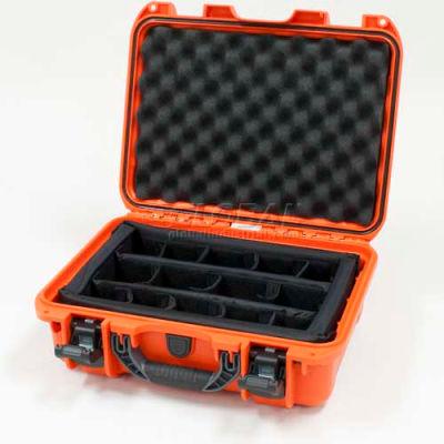 "Nanuk 920 Case w/Padded Divider, 16-11/16""L x 13-3/8""W x 6-13/16""H, Orange"