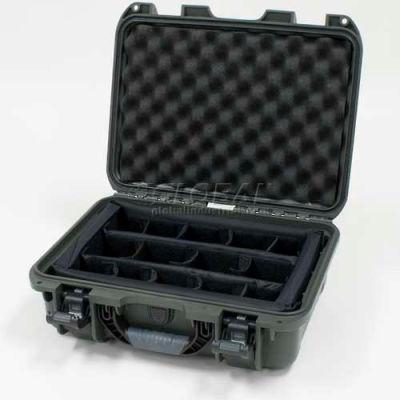 "Nanuk 920 Case w/Padded Divider, 16-11/16""L x 13-3/8""W x 6-13/16""H, Olive"