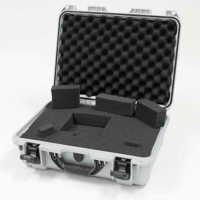 """Nanuk 925 Case w/Foam, 18-11/16""""L x 14-13/16""""W x 7""""H, Silver"""
