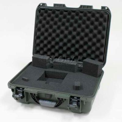 "Nanuk 925 Case w/Foam, 18-11/16""L x 14-13/16""W x 7""H, Olive"