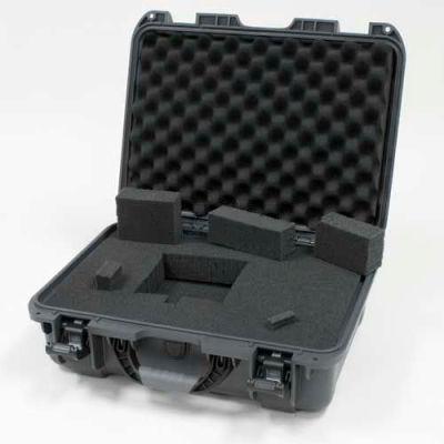 """Nanuk 925 Case w/Foam, 18-11/16""""L x 14-13/16""""W x 7""""H, Graphite"""