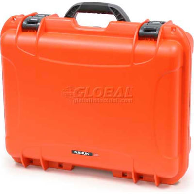 "Nanuk 930 Case, 19-13/16""L x 16""W x7-5/8""H, Orange"