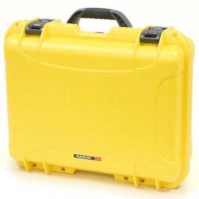 """Nanuk 930 Case, 19-13/16""""L x 16""""W x7-5/8""""H, Yellow"""