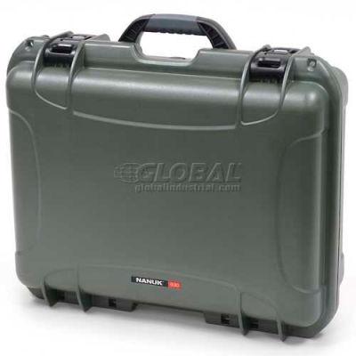 "Nanuk 930 Case, 19-13/16""L x 16""W x7-5/8""H, Olive"