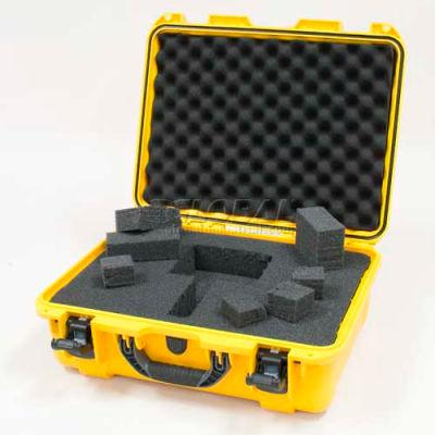"""Nanuk 930 Case w/Foam, 19-13/16""""L x 16""""W x7-5/8""""H, Yellow"""