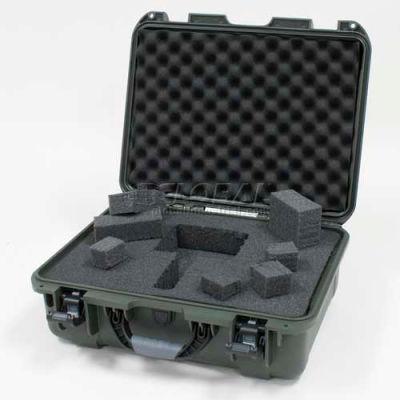 "Nanuk 930 Case w/Foam, 19-13/16""L x 16""W x7-5/8""H, Olive"
