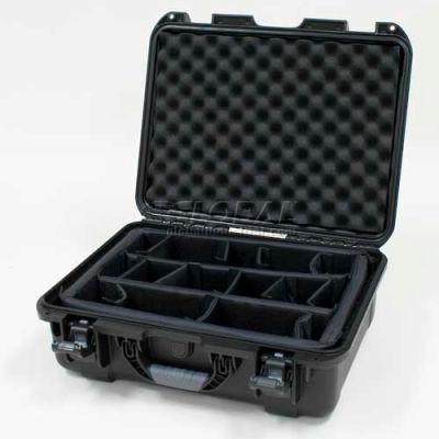 "Nanuk 930 Case w/Padded Divider, 19-13/16""L x 16""W x7-5/8""H, Black"