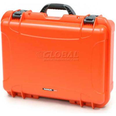 """Nanuk 940 Case, 21-11/16""""L x 16-7/8""""W x 8-1/2""""H, Orange"""