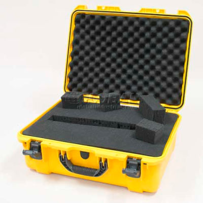 "Nanuk 940 Case w/Foam, 21-11/16""L x 16-7/8""W x 8-1/2""H, Yellow"
