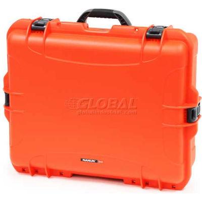 """Nanuk 945 Case, 25-1/8""""L x 19-7/8""""W x 8-13/16""""H, Orange"""