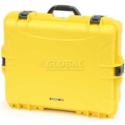 """Nanuk 945 Case, 25-1/8""""L x 19-7/8""""W x 8-13/16""""H, Yellow"""