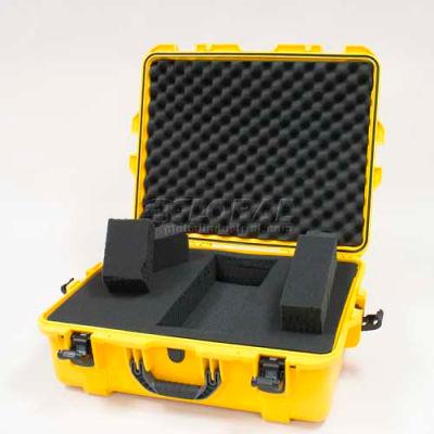 """Nanuk 945 Case w/Foam, 25-1/8""""L x 19-7/8""""W x 8-13/16""""H, Yellow"""