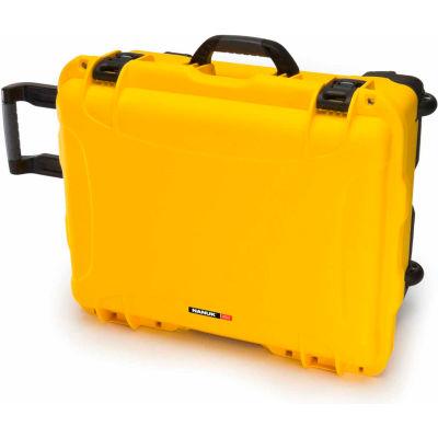 """Nanuk 950-0004 950 Case, 22.8""""L x 18.3""""W x 11.7""""H, Yellow"""