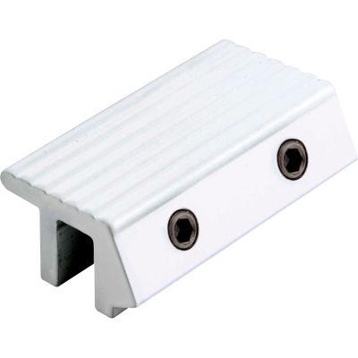 Primeline Products U 9815 Sliding Door Lock, Tamper Resistant, Aluminum Finish