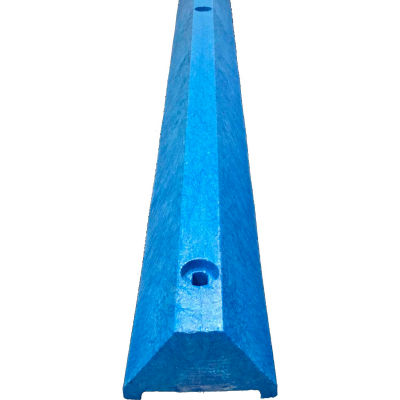 "4' Ultra Parking Block with Hardware, 4""H, Blue, ULTRA4648PBBL"