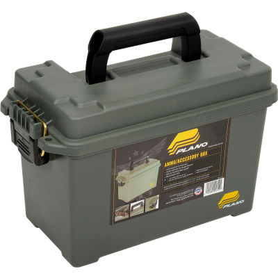 """Plano Molding 1712-00 Ammo Can - 13-3/4""""L x 7""""W x 8-3/4""""H, OD Green"""