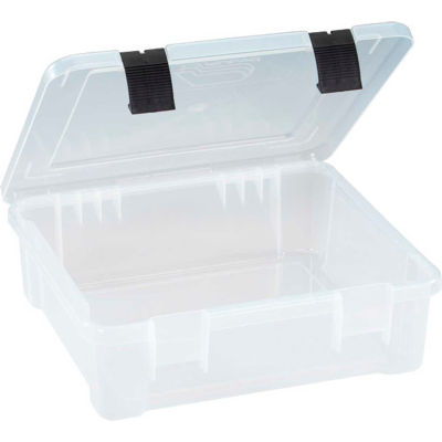 "Plano ProLatch™ StowAway® Utility Box Open Compartment 17-1/4""L x 16""W x 5-1/4""H Clear - Pkg Qty 3"