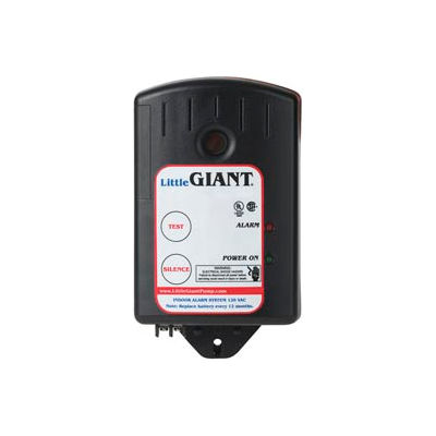 Little Giant 513288 HWAB Indoor High Water Alarm with 9V DC Battery Backup