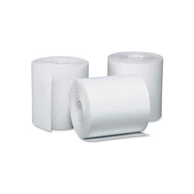 """PM® Thermal Register Cash Roll, 3-1/8"""" x 230', Canary, 50 Rolls/Carton"""