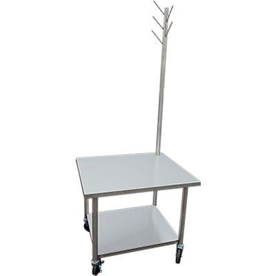 IMC SMTT-3036 Mixer Table with Tool Tree, Undershelf & Casters 30x36x30