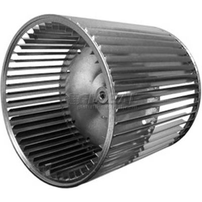 """Double Inlet Blower Wheel, 9-1/2"""" Dia., CW Or CCW, 9-1/2""""W, 3/4"""" Bore"""