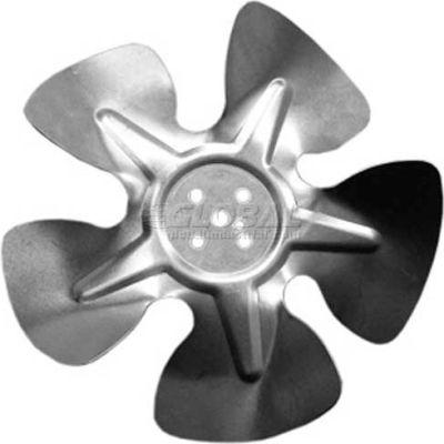 "Small Hubless Fan Blade, 8"" Dia., 23° Pitch, CW, 1-1/4"" Blade Depth, 5 Blade"