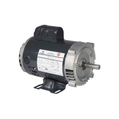 US Motors, ODP, 1 1/2 HP, 1-Phase, 1725 RPM Motor, D32C2J14C