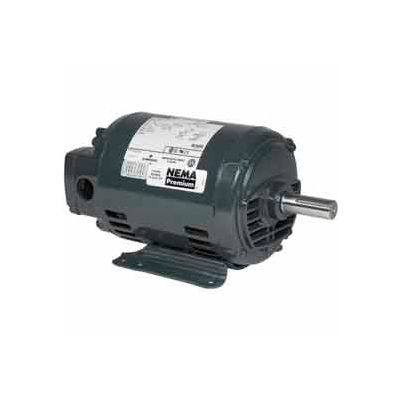 US Motors, ODP, 5 HP, 3-Phase, 1765 RPM Motor, D5P2D