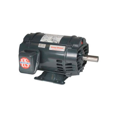 US Motors Inverter Duty, 7.5 HP, 3-Phase, 1765 RPM Motor, D7V2B