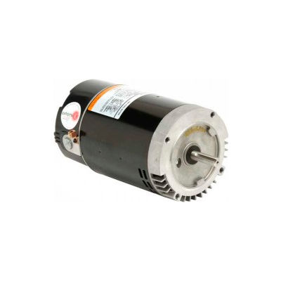 "US Motors 56 C Flange 6.5"" Dia. Pool, 1 HP, 1-Phase, 3450 RPM Motor, EB228"