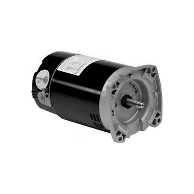 US Motors Pool & Spa, Square Flange, 3/4 HP, 1-Phase, 3450 RPM Motor, ET3207