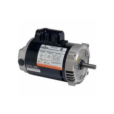 US Motors Pump, 1/2 HP, 1-Phase, 3450 RPM Motor, EU0502B