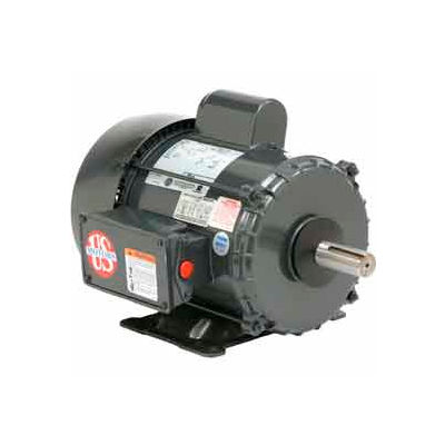 US Motors Farm Duty, 3 HP, 1-Phase, 1740 RPM Motor, FD3CM2K18