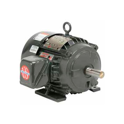 US Motors Hostile Duty TEFC, 3 HP, 3-Phase, 1175 RPM Motor, H3P3G