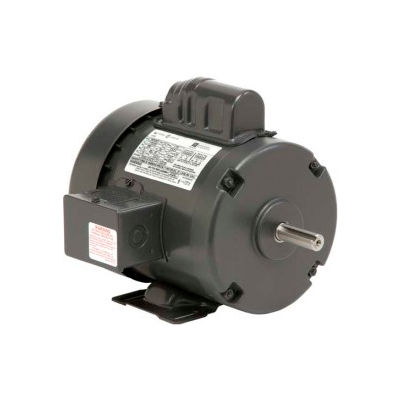 US Motors, TEFC, 5 HP, 1-Phase, 3505 RPM Motor, T5C1K18
